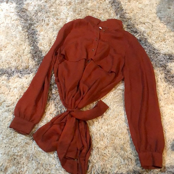 Forever 21 Tops - Rust colored shirt